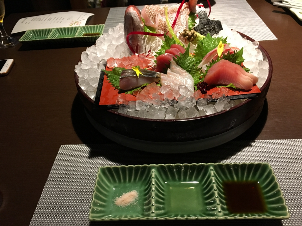 シーサイドリゾート ゆうみ 主菜:鮮魚姿造り