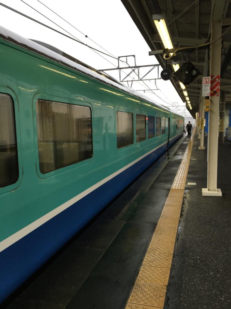 君津駅 快速リゾートあわトレイン