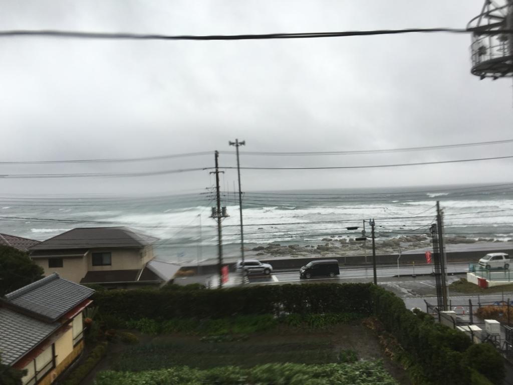 リゾートあわトレインより 和田町白渚