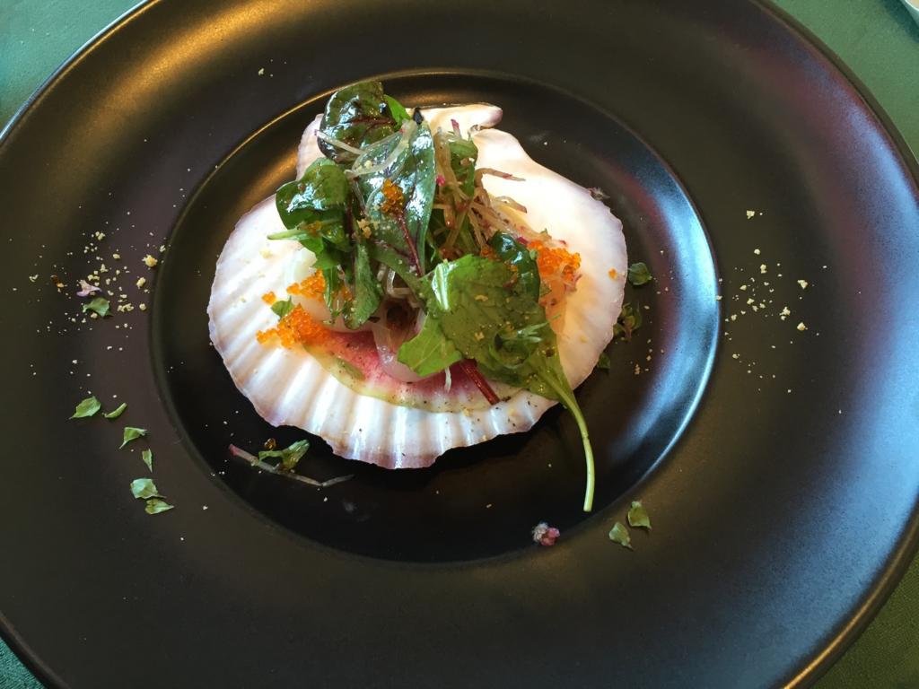 「河口湖オルゴールの森 レストラン ル・リバージュ」ランチ 前菜