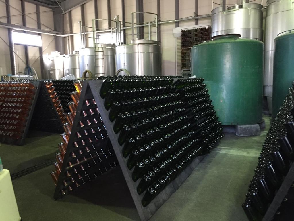 「ルミエールワイナリー」ワイン工場