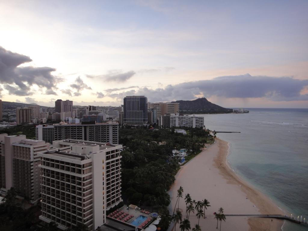 ヒルトン・ハワイアン・ビレッジ・ワイキキ 部屋からの風景