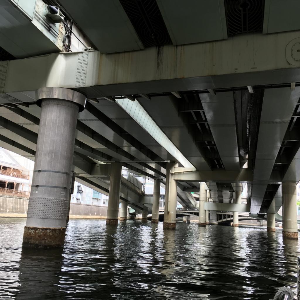 日本橋発着 東京の運河めぐり探険クルーズ 出発