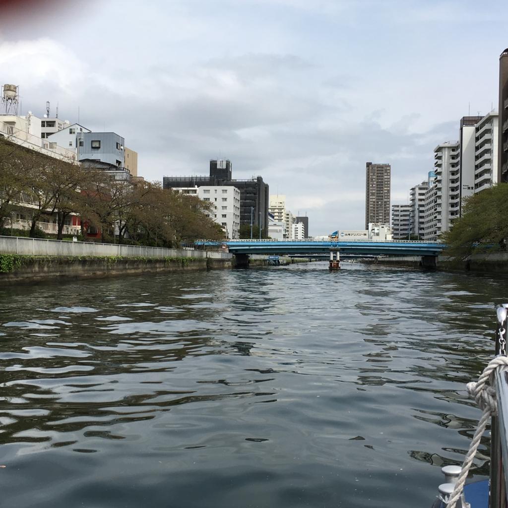 運河クルーズ 小名木川 桜の名所