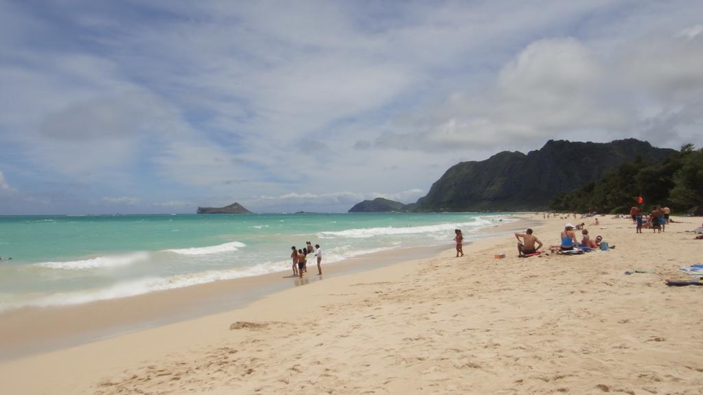 ハワイ オアフ島 秘密のビーチ
