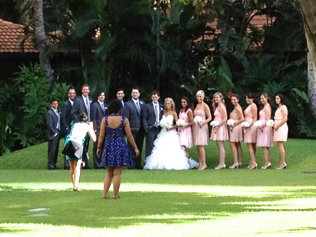 ハワイ オアフ島 ヒルトンハワイアンビレッジ アメリカ結婚式