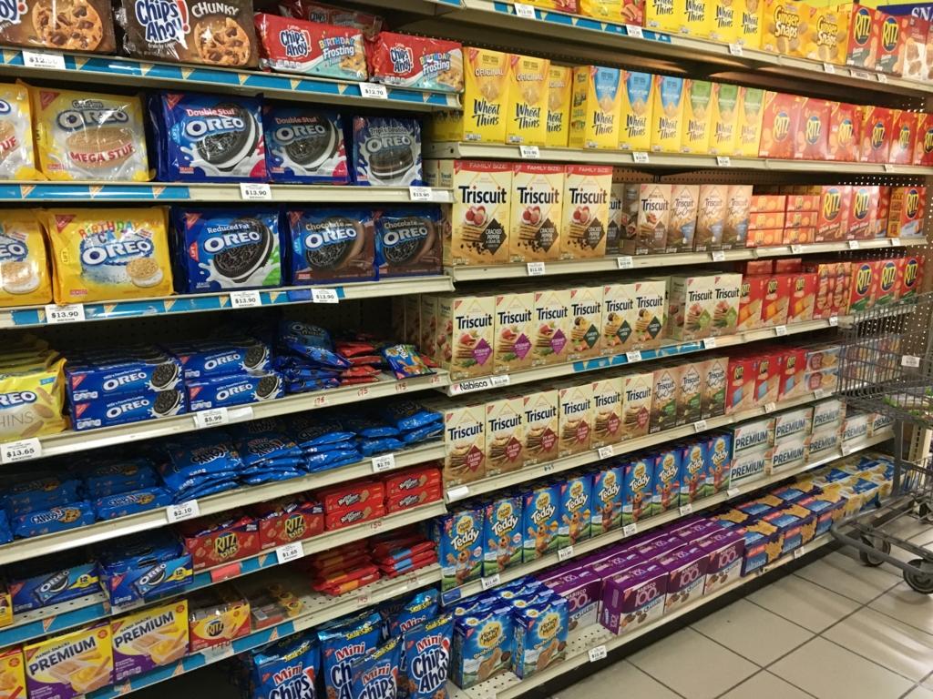 ベリーズシティ スーパーマーケット 陳列棚 お菓子