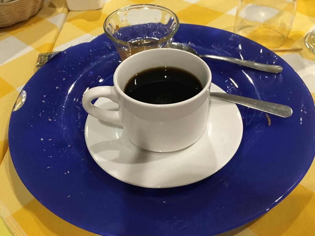 グアテマラ フローレス ホテル カソナ デル 夕食 コーヒー