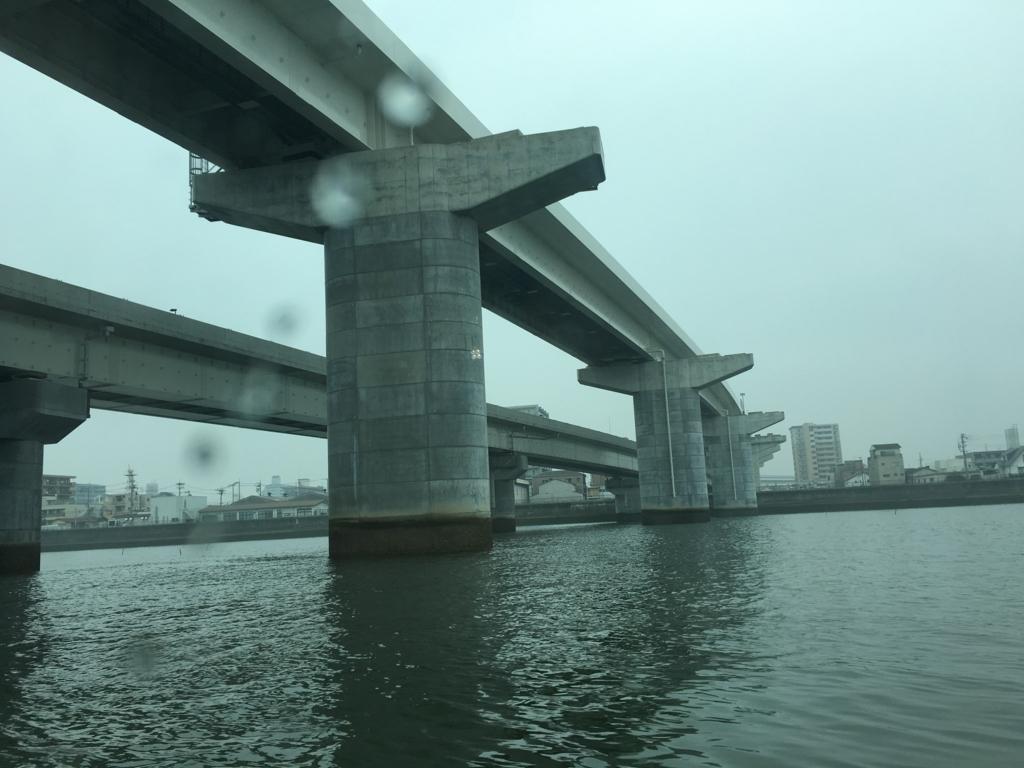 アクアネット広島 ひろしま世界遺産航路 高速船 橋下通過