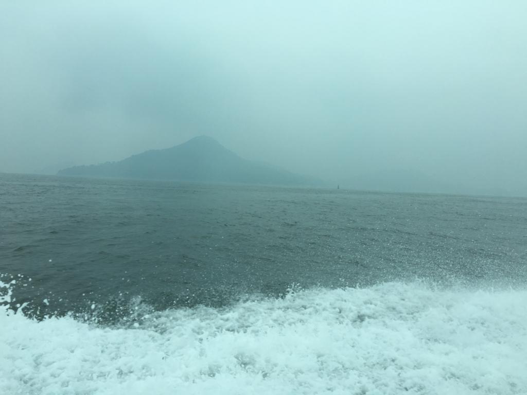 アクアネット広島 ひろしま世界遺産航路 高速船 海運航中