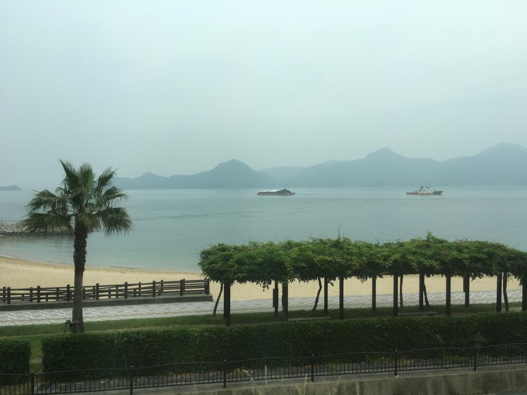 呉線 広行 列車からの風景