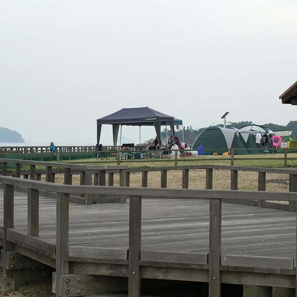 大久野島 ウサギ島 キャンプ場