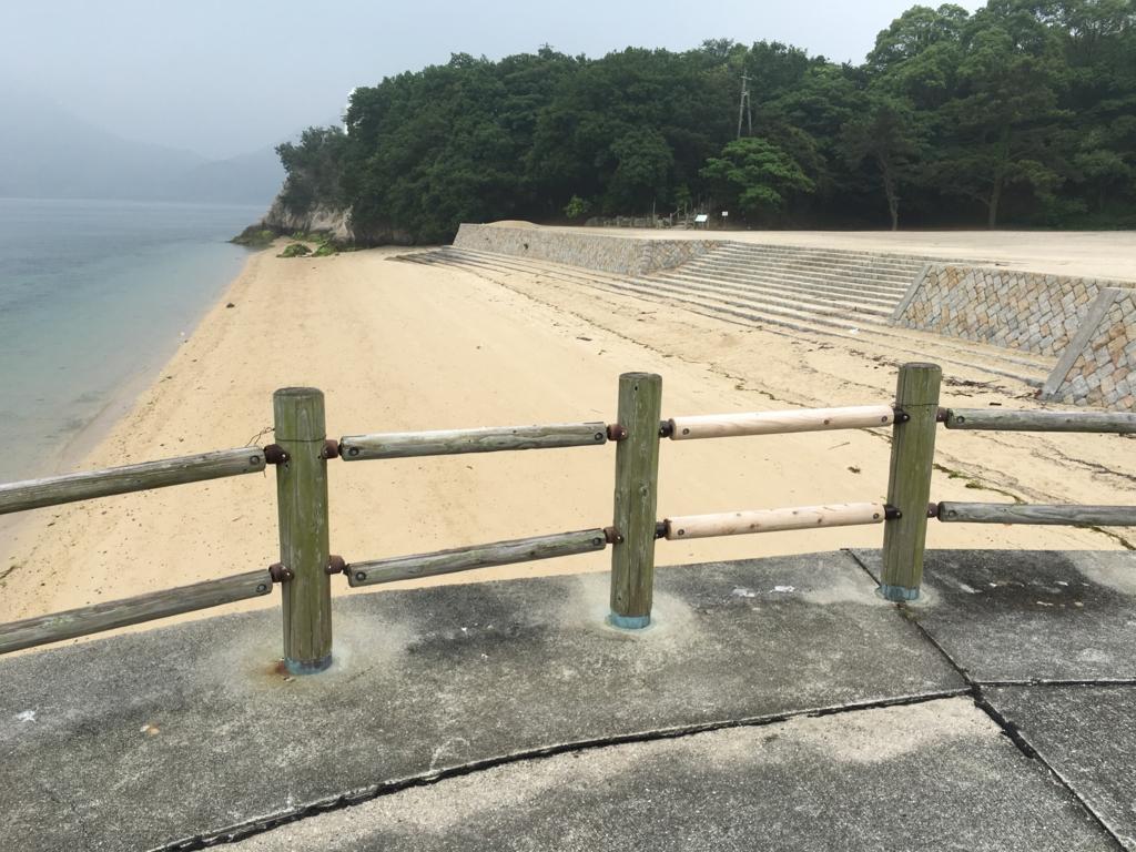 2回目のうさぎ島 大久野島 海水浴場