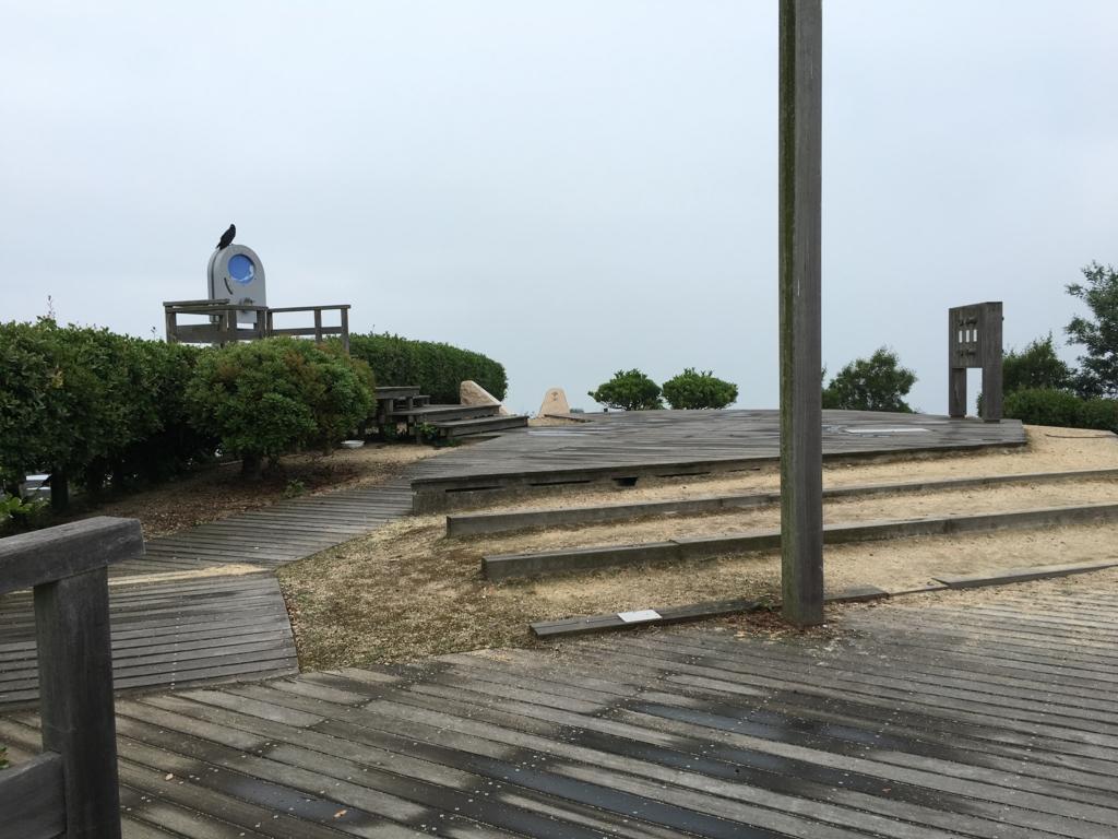 2回目のうさぎ島 大久野島 展望台