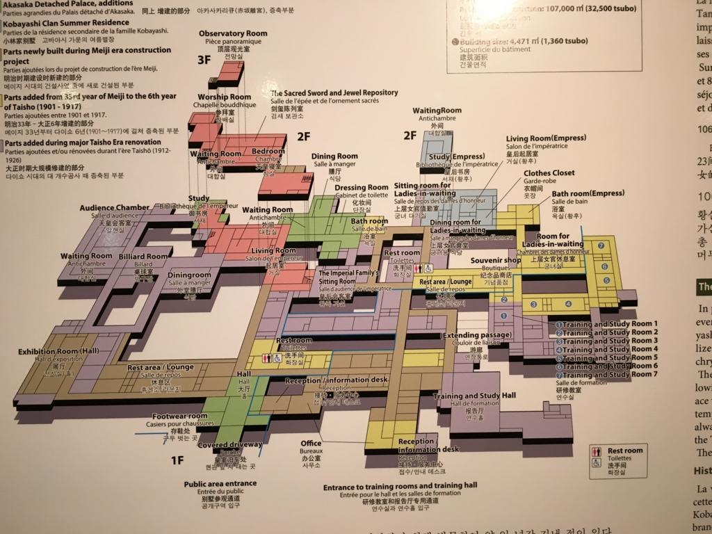 日光田母沢御用邸 館内MAP