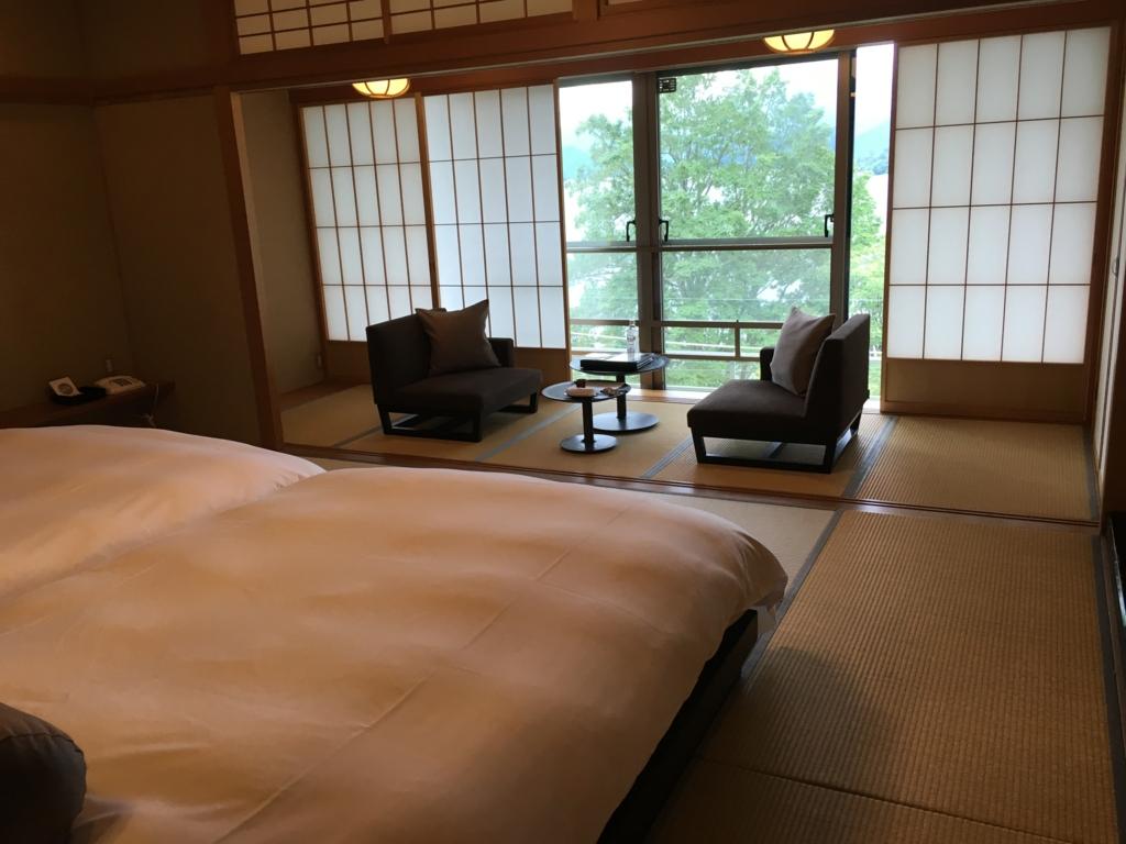 「星野リゾート界 日光」ツイン客室