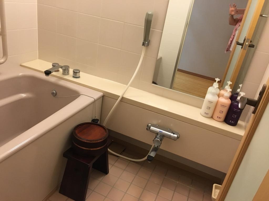 「星野リゾート界 日光」客室 お風呂