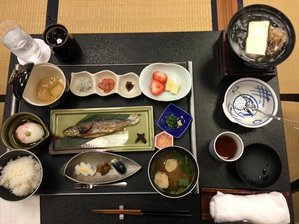 「星野リゾート界 日光」朝食