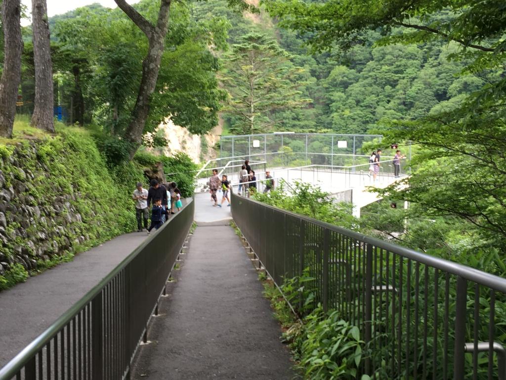 「華厳の滝」展望台