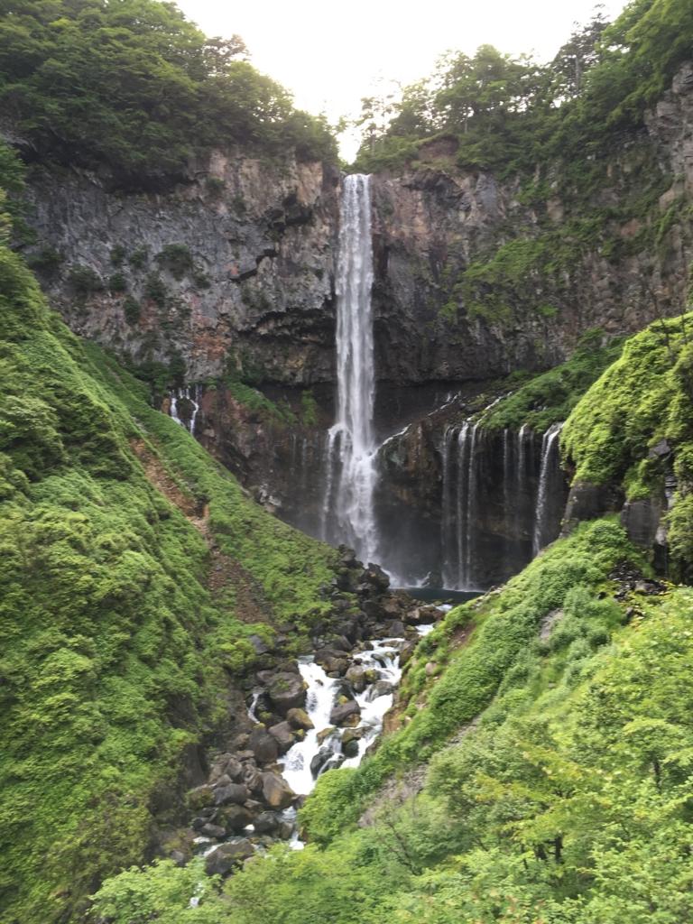 「華厳の滝」観爆台より