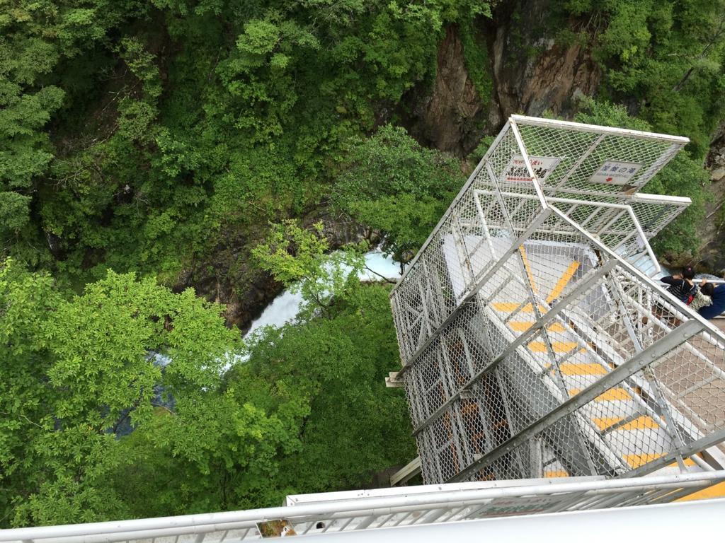 「華厳の滝」観爆台より 他の滝2