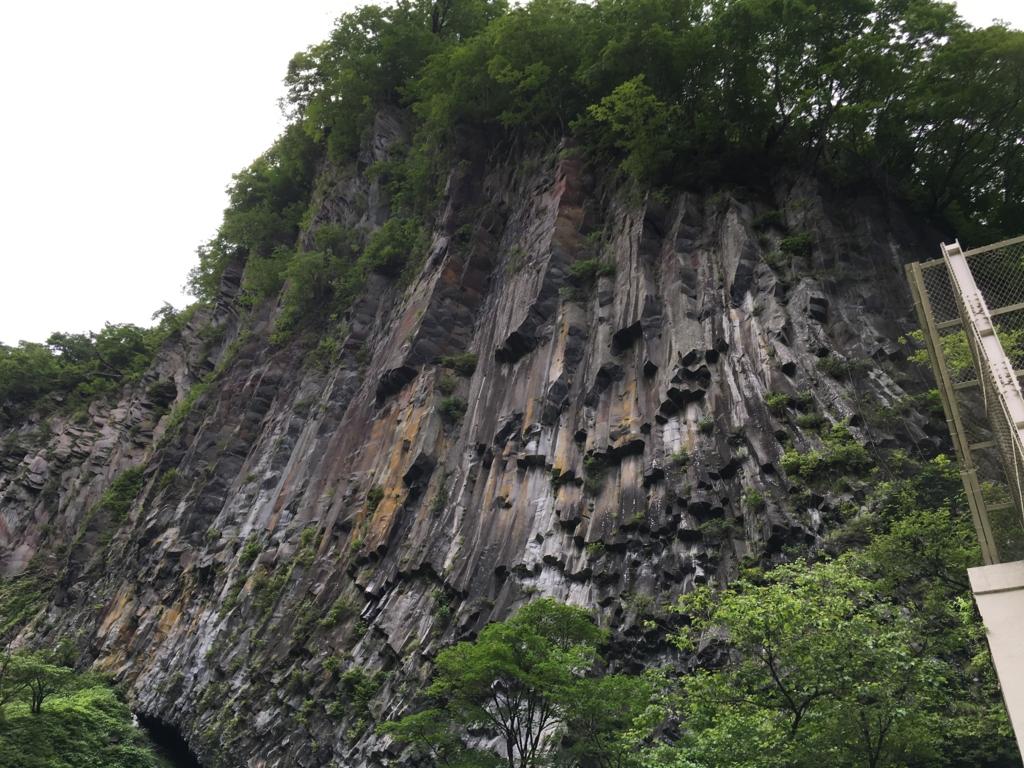 「華厳の滝」観爆台よりの風景