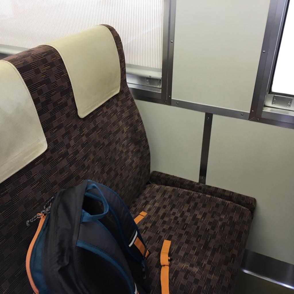 山陽本線 各駅停車 座席