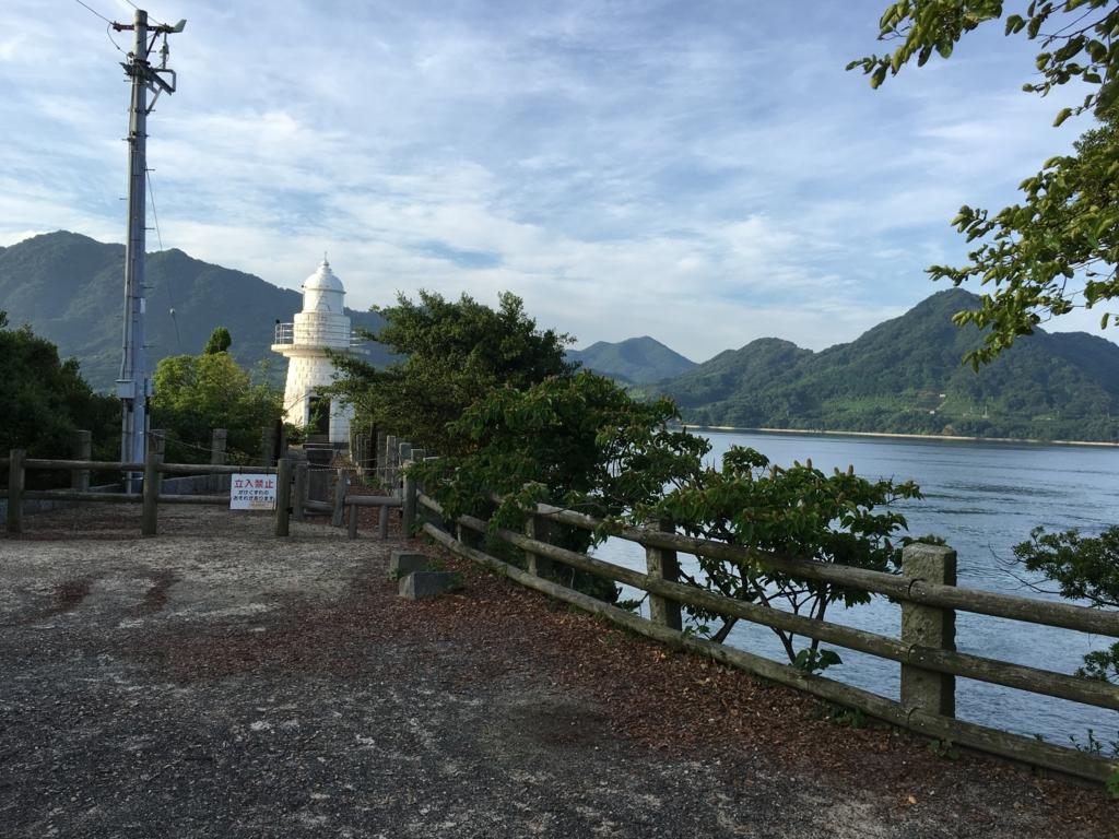 うさぎ島(大久野島)灯台