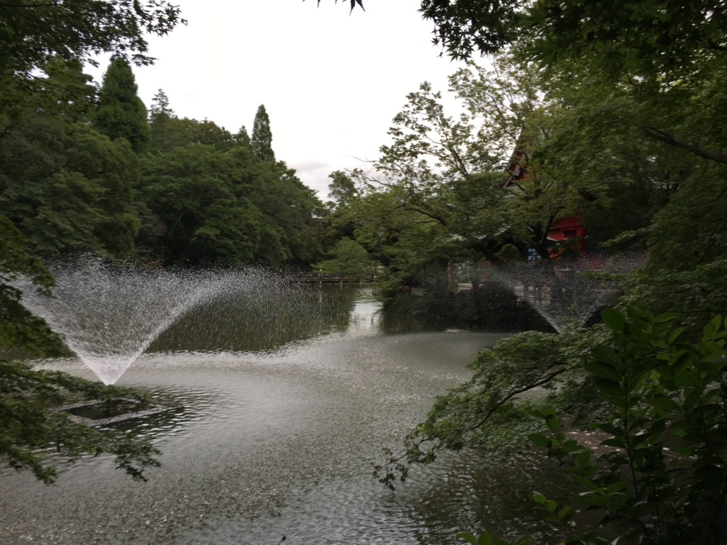 「井の頭公園」吉祥寺駅から ボート池付近から美術館へ