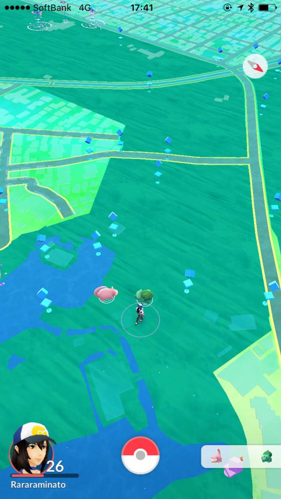 「井の頭公園」吉祥寺駅から ボート池付近 ポケモンGOマップ