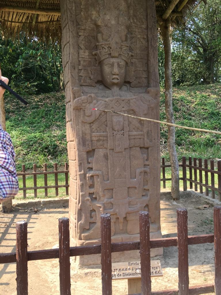 グアテマラ キリグア遺跡 石碑C 「人類週末」のきっかけ