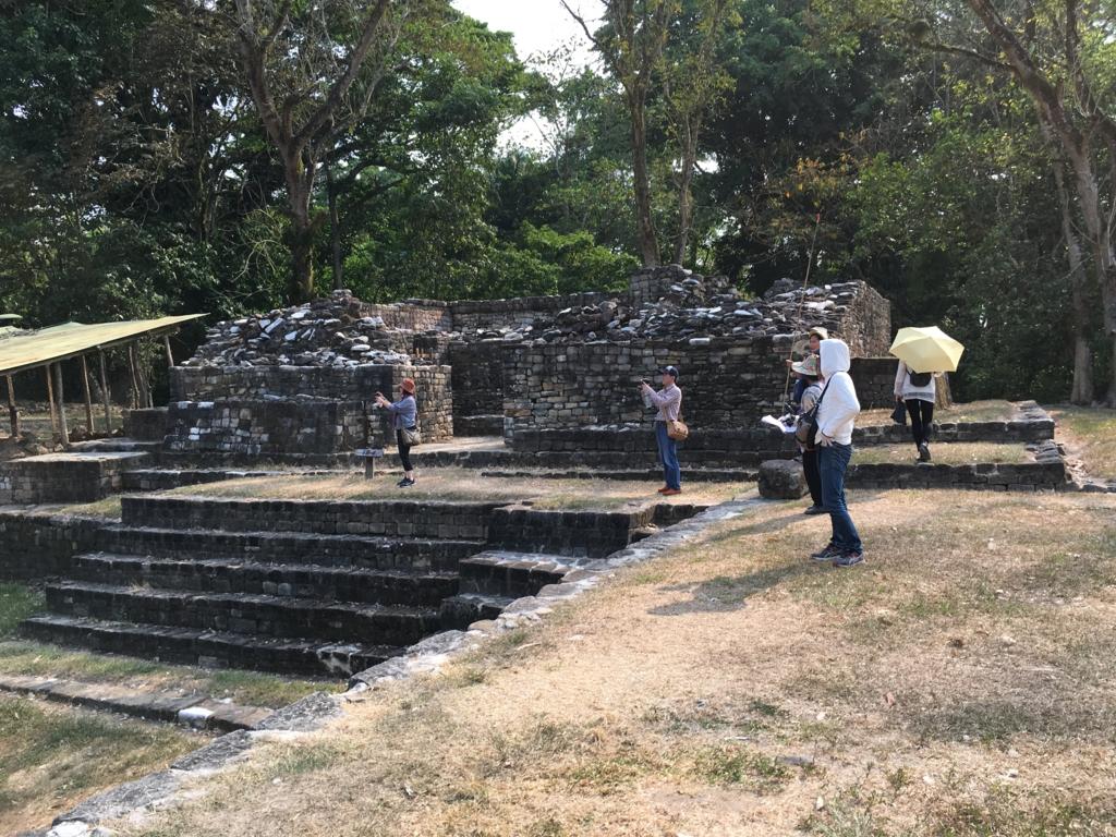 グアテマラ キリグア遺跡 アクロポリス