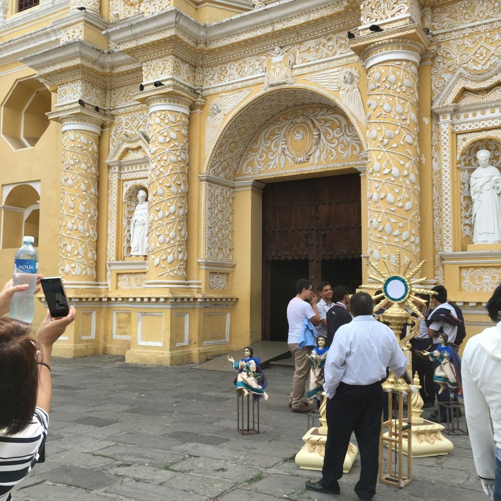 グアテマラ アンティグア ラ・メルセー教会