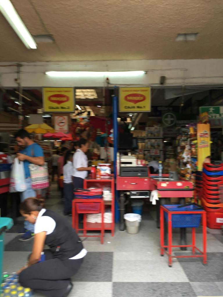 グアテマラ アンティグア 現地のスーパーマーケット