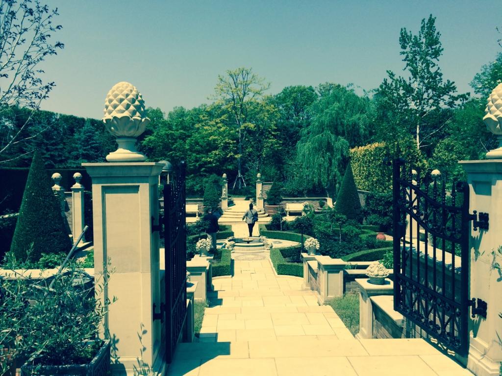 「キングスウェル」庭園