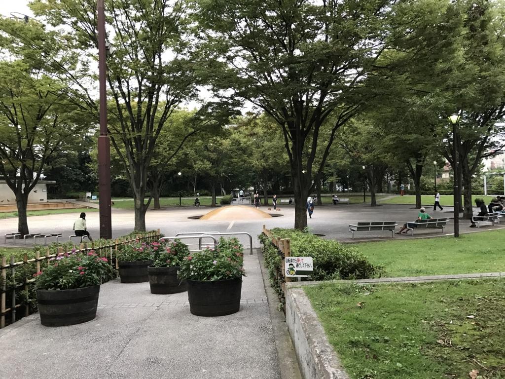 「西葛西少年野球広場」「虹の広場」