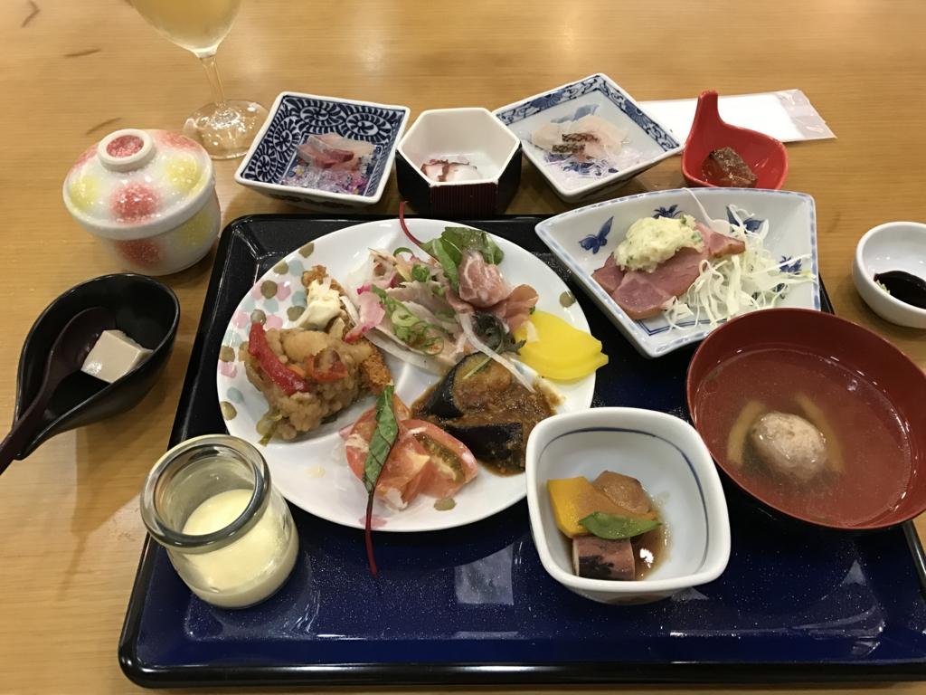 fうさぎ島(大久野島) 「休暇村」 夕食バイキング