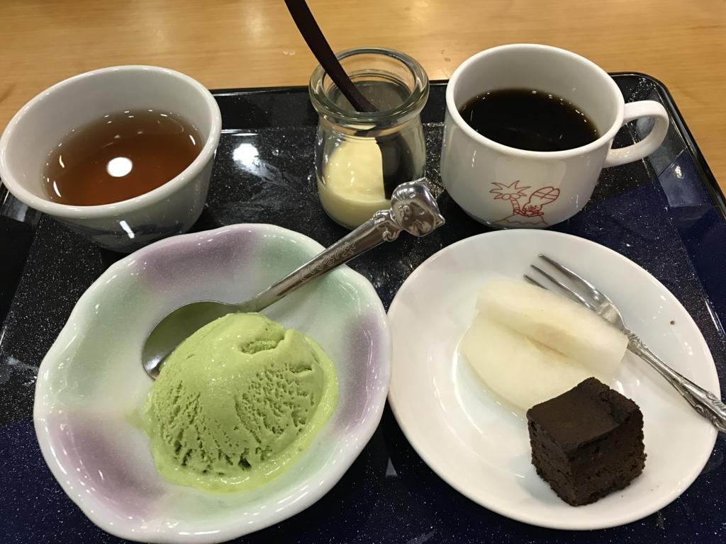 うさぎ島(大久野島) 「休暇村」 夕食バイキング デザート