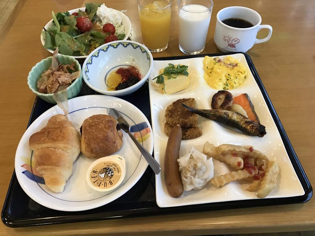 うさぎ島(大久野島) 「休暇村」 朝食バイキング