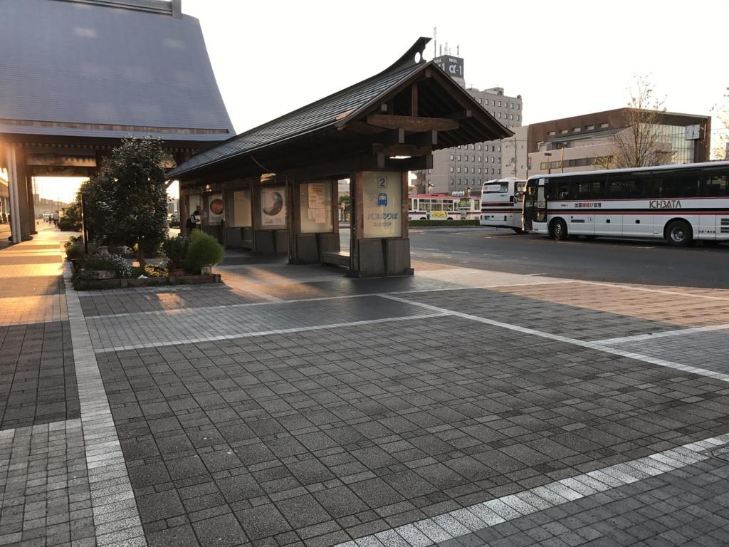 JR出雲市駅 北口バス乗り場