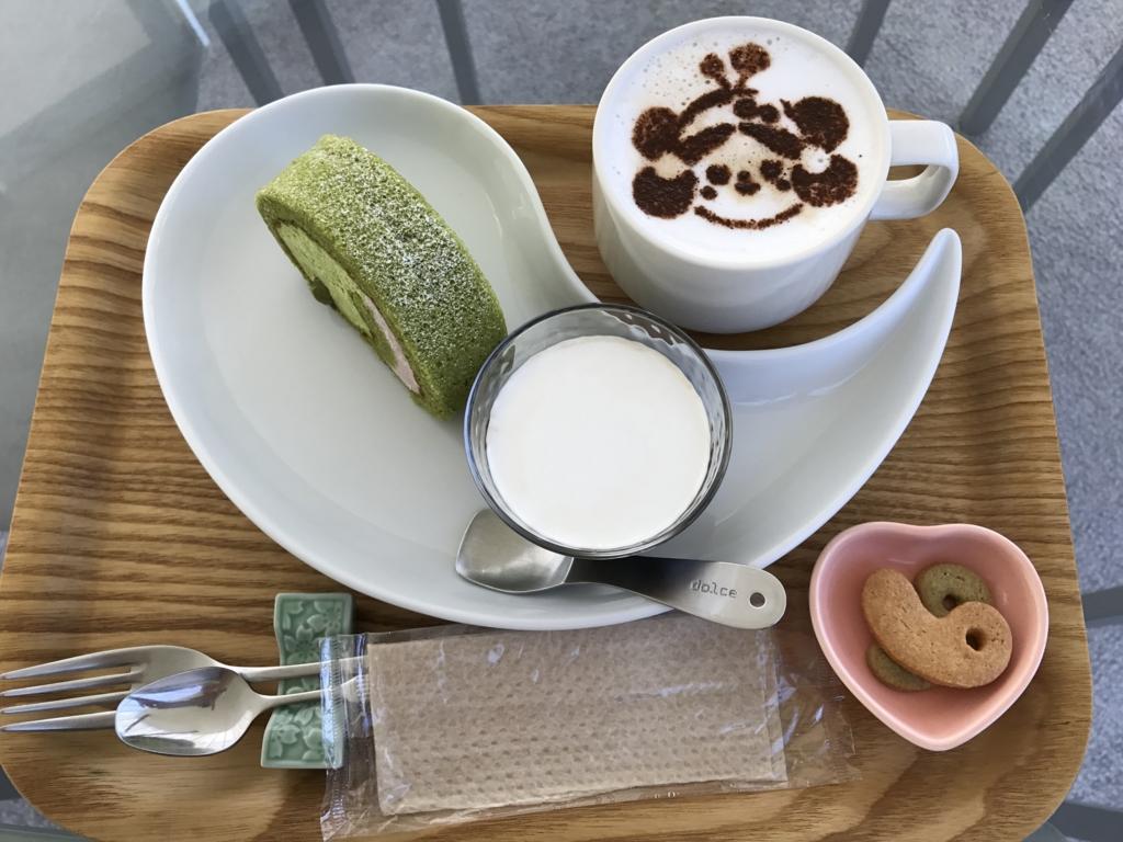 「島根県立古代出雲歴史博物館」maru cafe カプチーノ 「雲太くん」