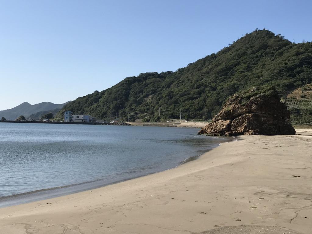 出雲「稲佐の浜」海岸