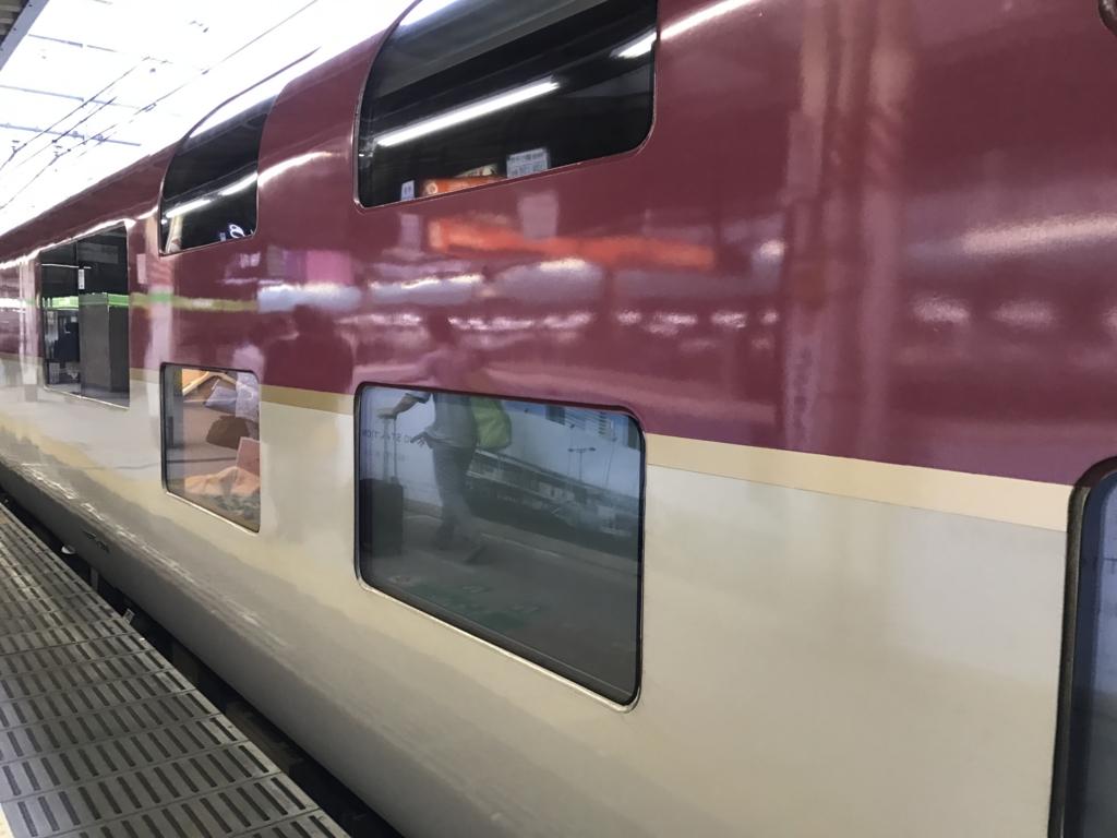 「サンライズ出雲」東京駅 シングル車輛