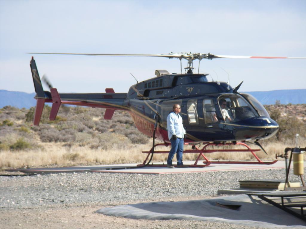 グランドキャニオン ウエストリム ヘリコプター体験