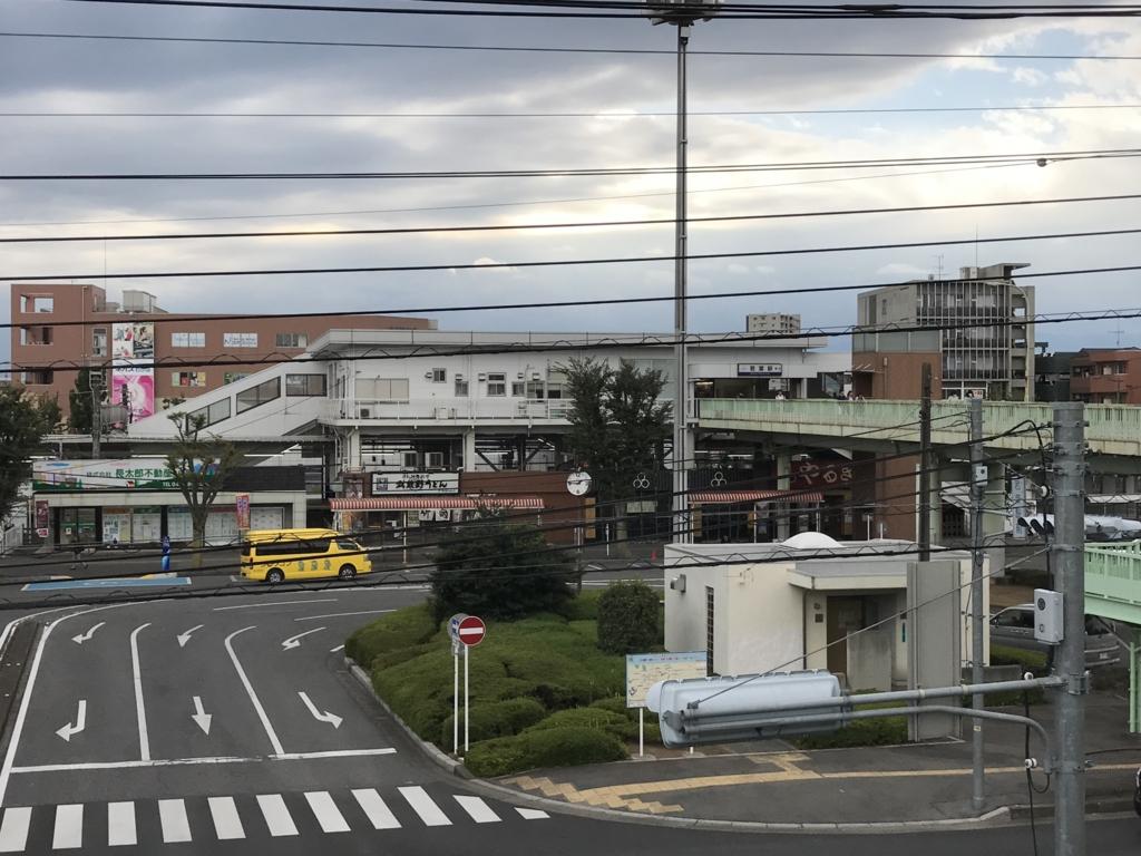 東武東上線 若菜駅 ワカバウォークより