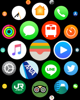 Apple Watch Home画面