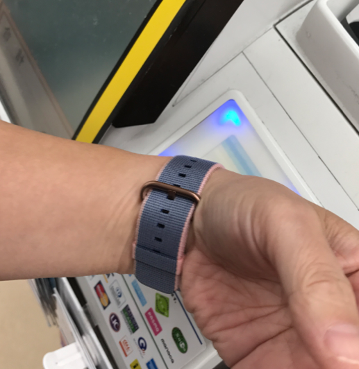 Apple Watch Wallet Suicaカード セブンイレブンで使ってみました