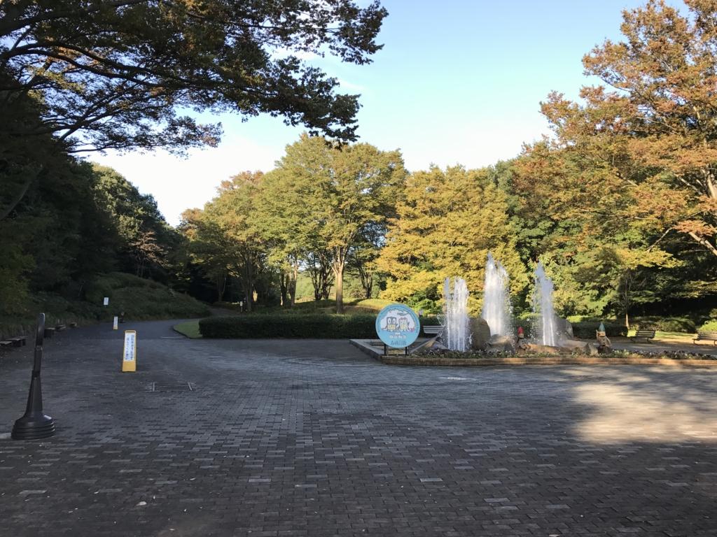 国営武蔵丘陵森林公園 南口周辺(園内)