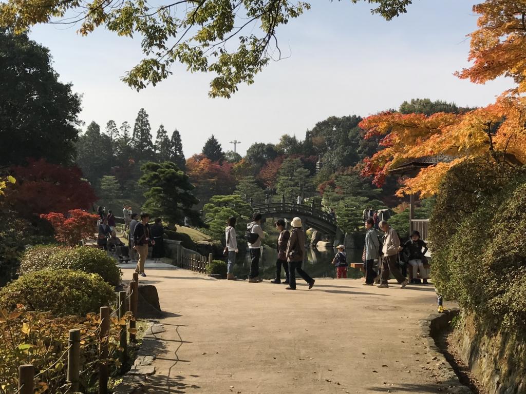 広島県 三景園 潮見亭付近