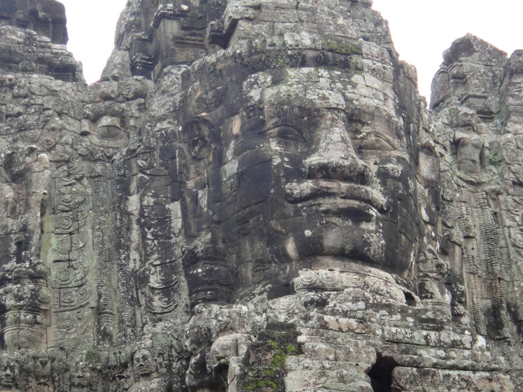 カンボジア シェムリアップ アンコール・トム遺跡 南大門 拡大